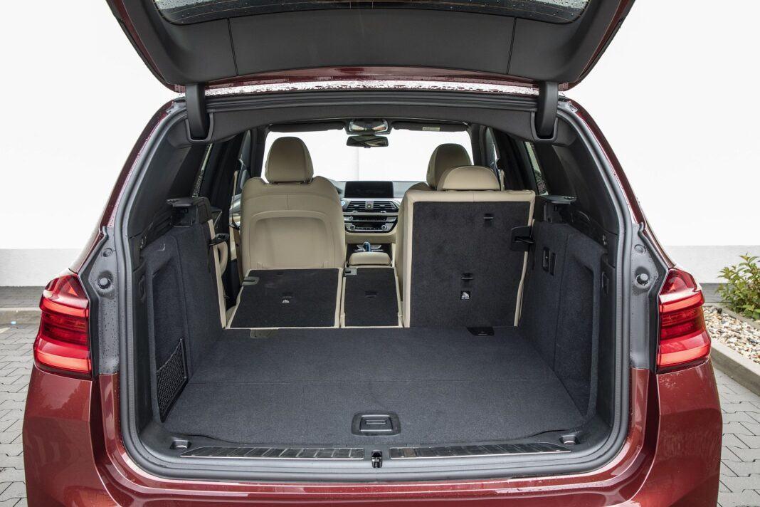 BMW iX3 - test (2021) - bagażnik