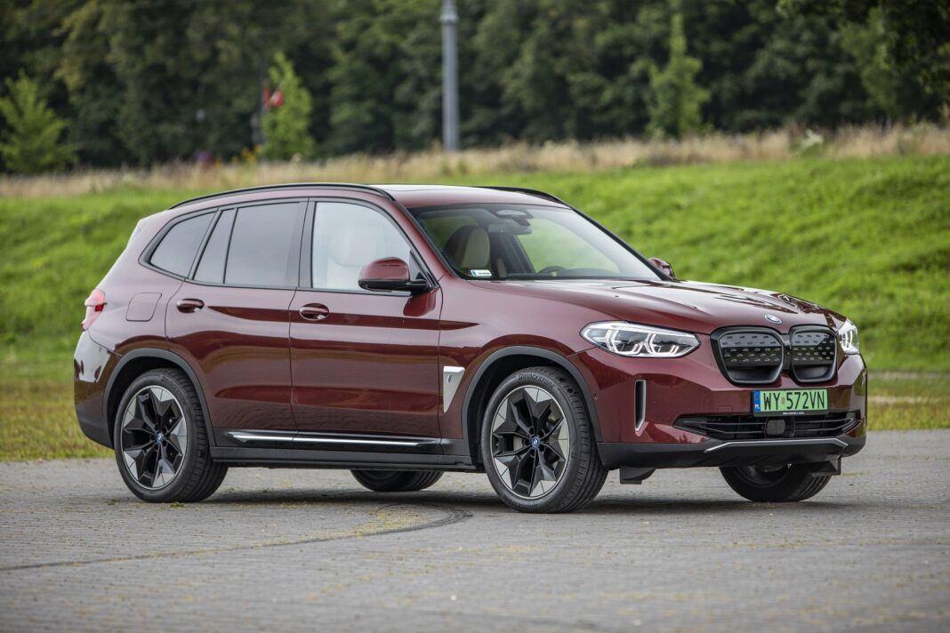 BMW iX3 - test (2021) - przód