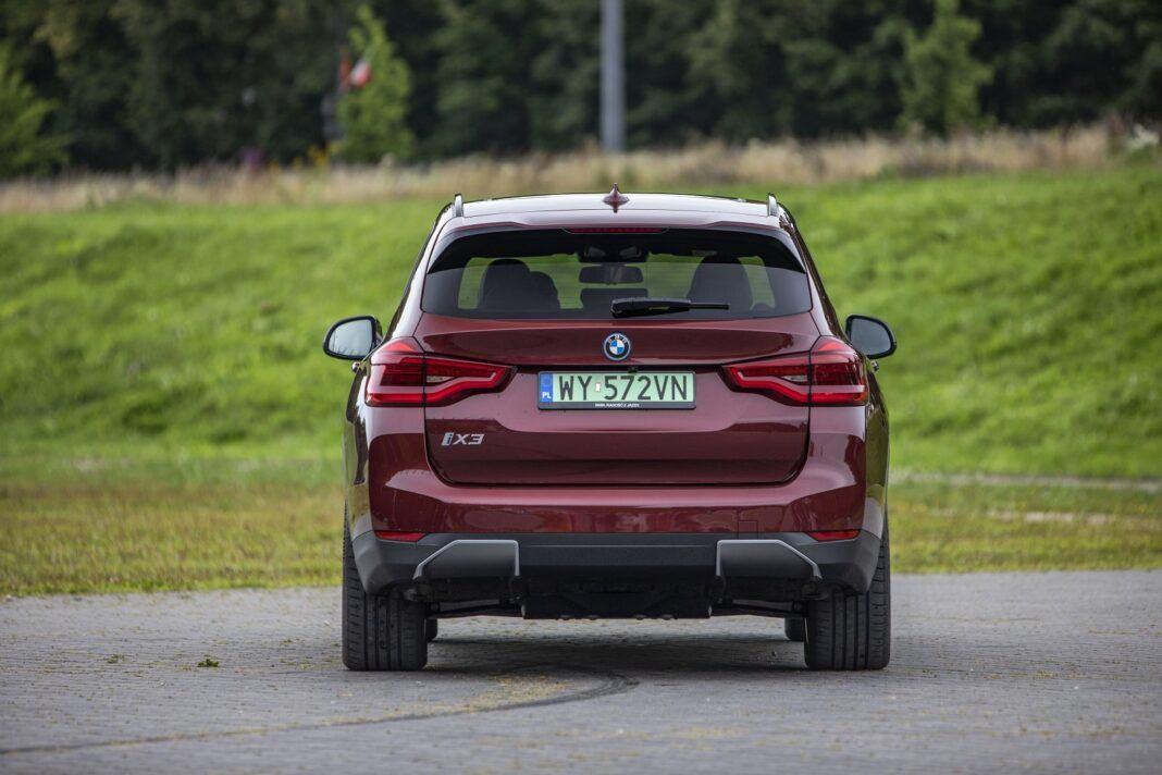 BMW iX3 - test (2021) - tył