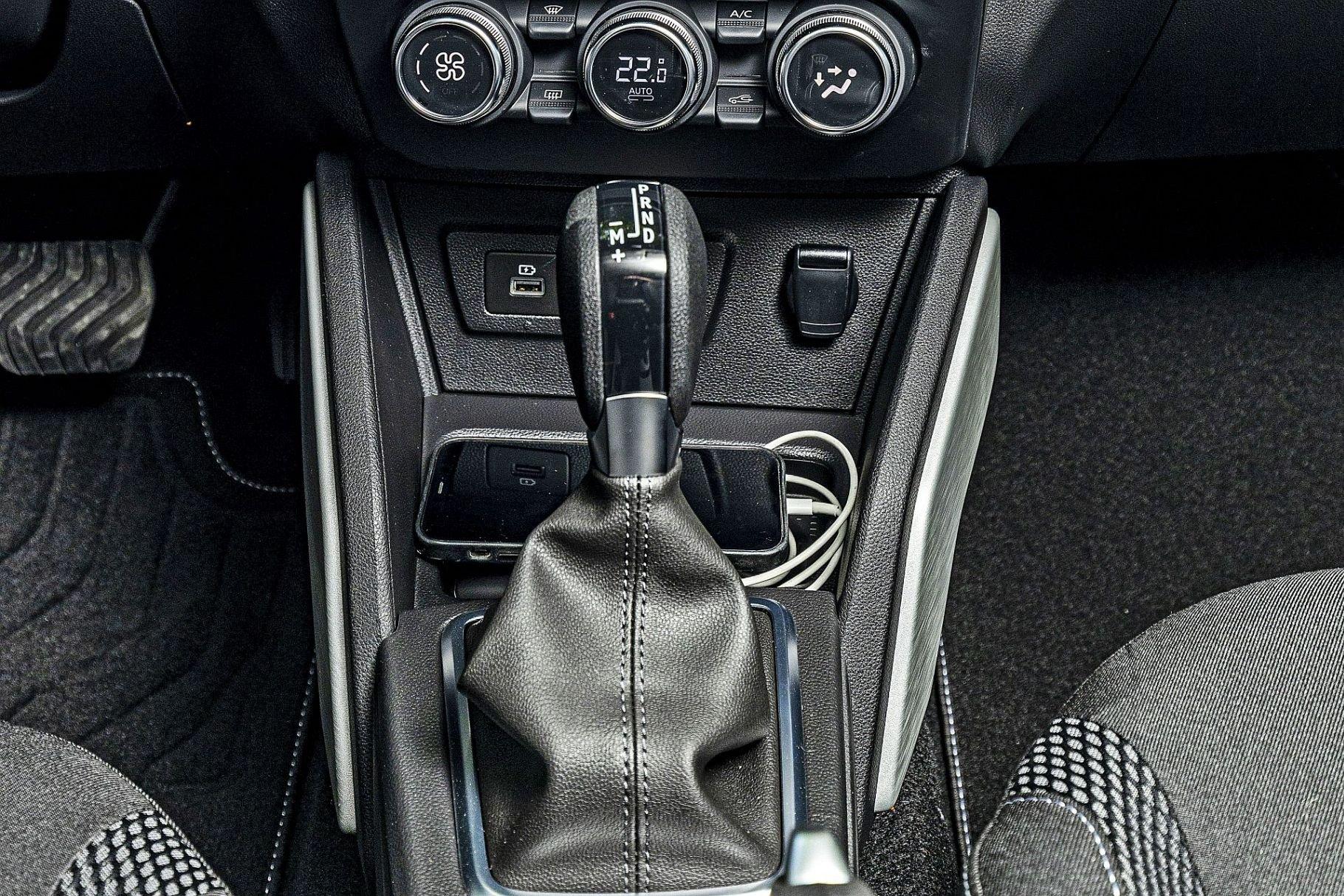 Dacia Duster II FL - skrzynia EDC
