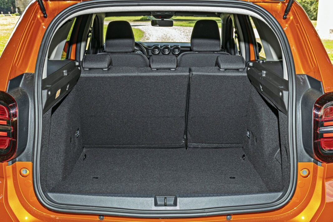 Dacia Duster II FL - bagażnik