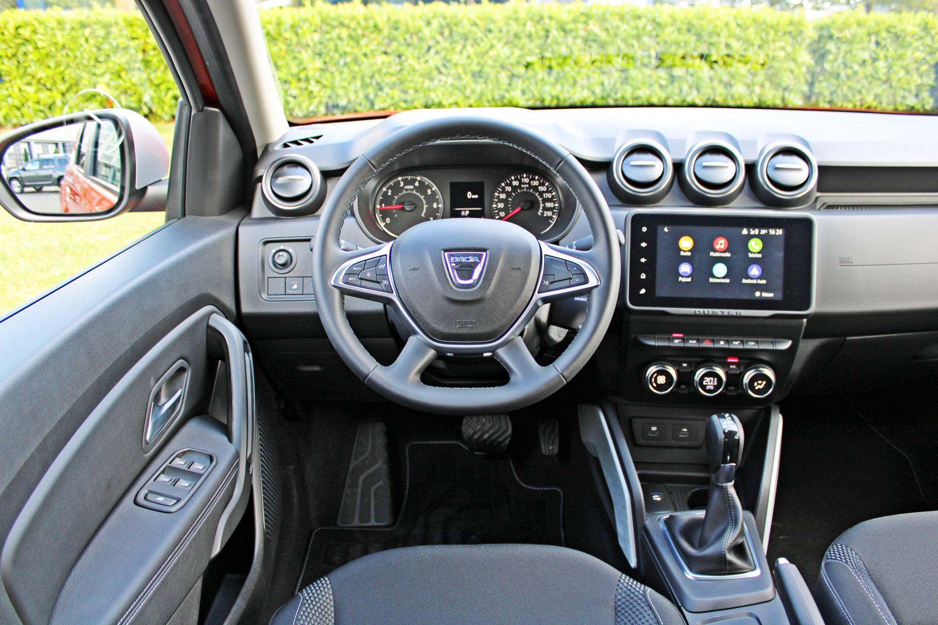 Dacia Duster II FL - deska rozdzielcza
