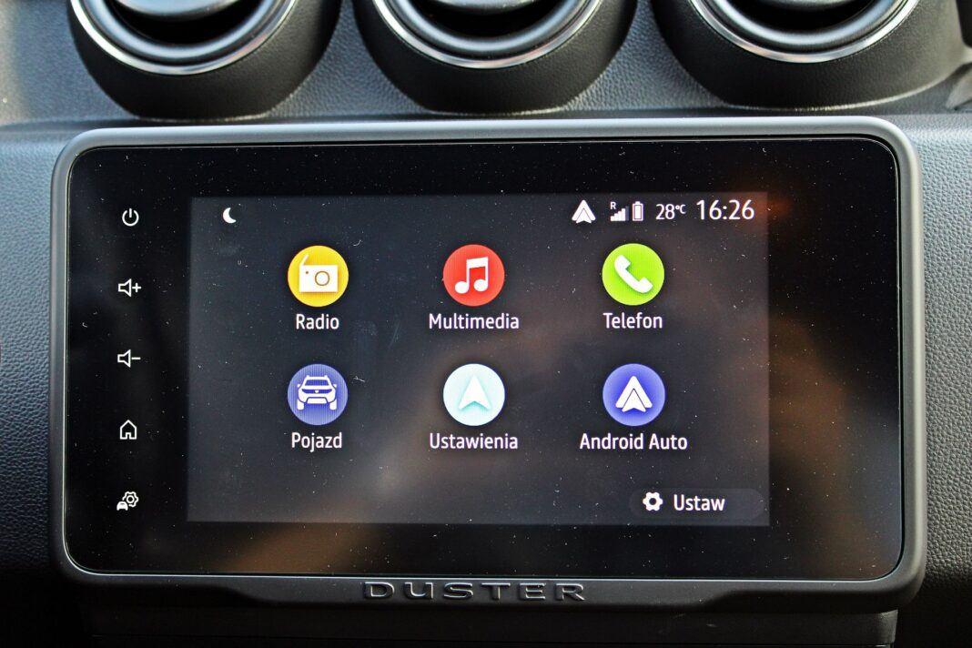 Dacia Duster II FL - system multimedialny