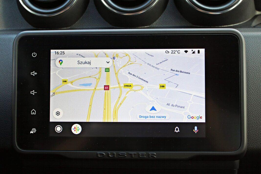 Dacia Duster II FL - Android Auto