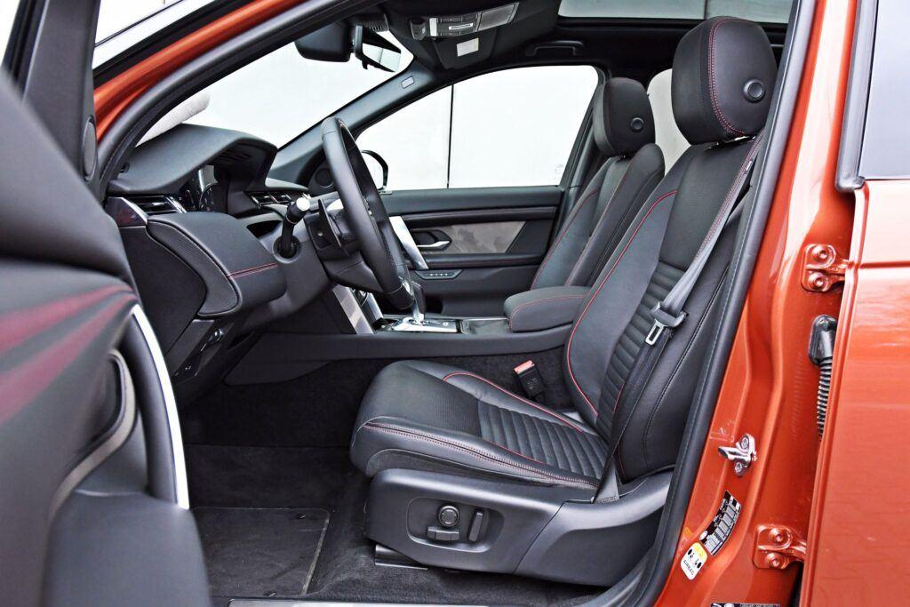 Land Rover Discovery Sport - fotele przednie