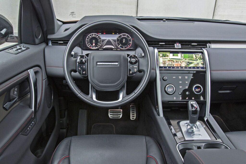 Land Rover Discovery Sport - deska rozdzielcza