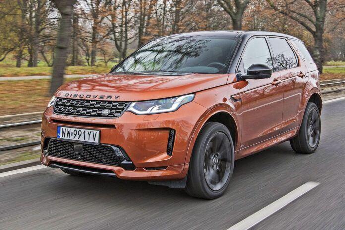 Land Rover Discovery Sport - przód