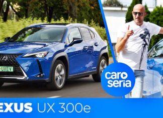 Lexus UX 300e – test CaroSeria