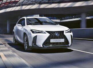 Lexus UX po liftingu – co się zmieniło?
