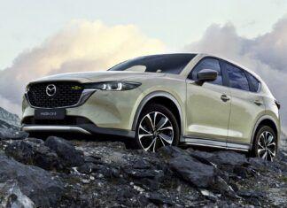 Nowa Mazda CX-5 (2022) – oficjalne zdjęcia i informacje