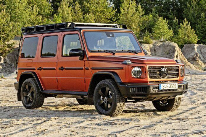 Mercedes klasy G Professional - przód