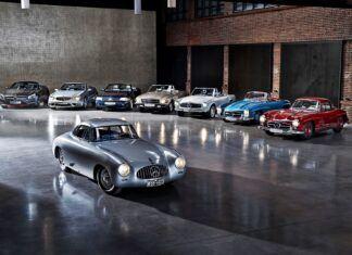 70 lat Mercedesa SL – nowa wystawa w muzeum marki