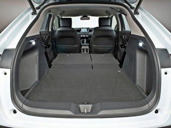 Honda HR-V - bagażnik
