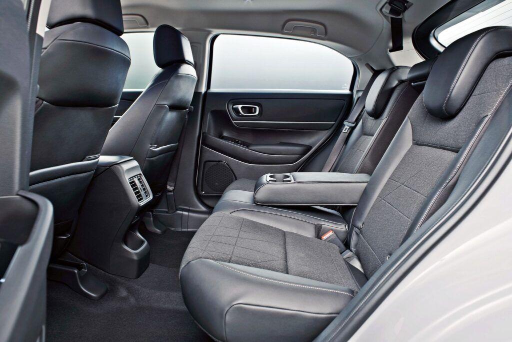 Honda HR-V - tylna kanapa