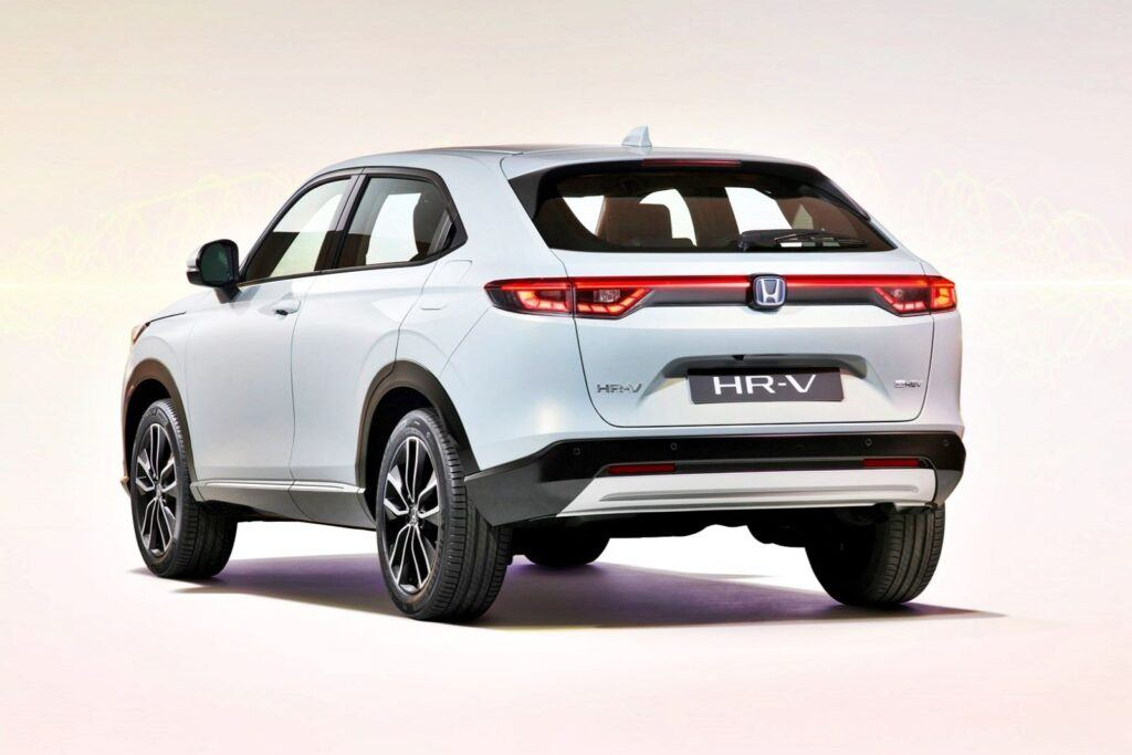 Honda HR-V - tył