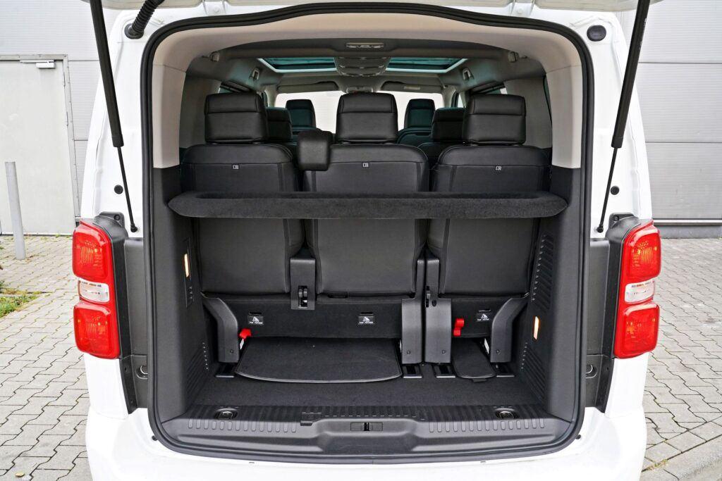 Opel Zafira Life - bagażnik