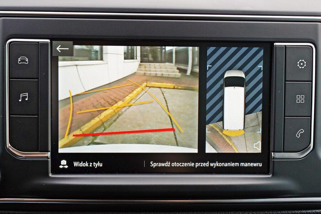 Opel Zafira Life - kamera cofania