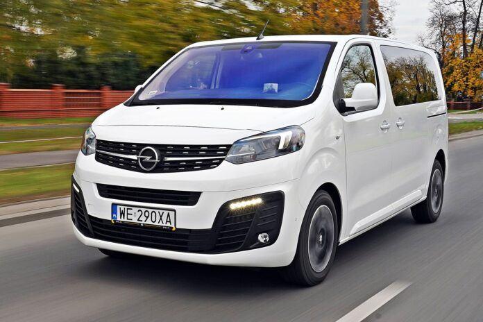 Opel Zafira Life - przód