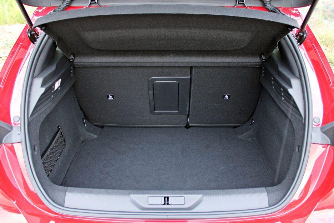 Peugeot 308 - bagażnik