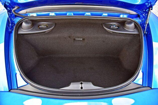 Porsche 718 Boxster - tylny bagażnik