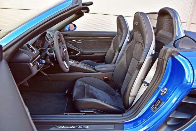 Porsche 718 Boxster - fotele przednie