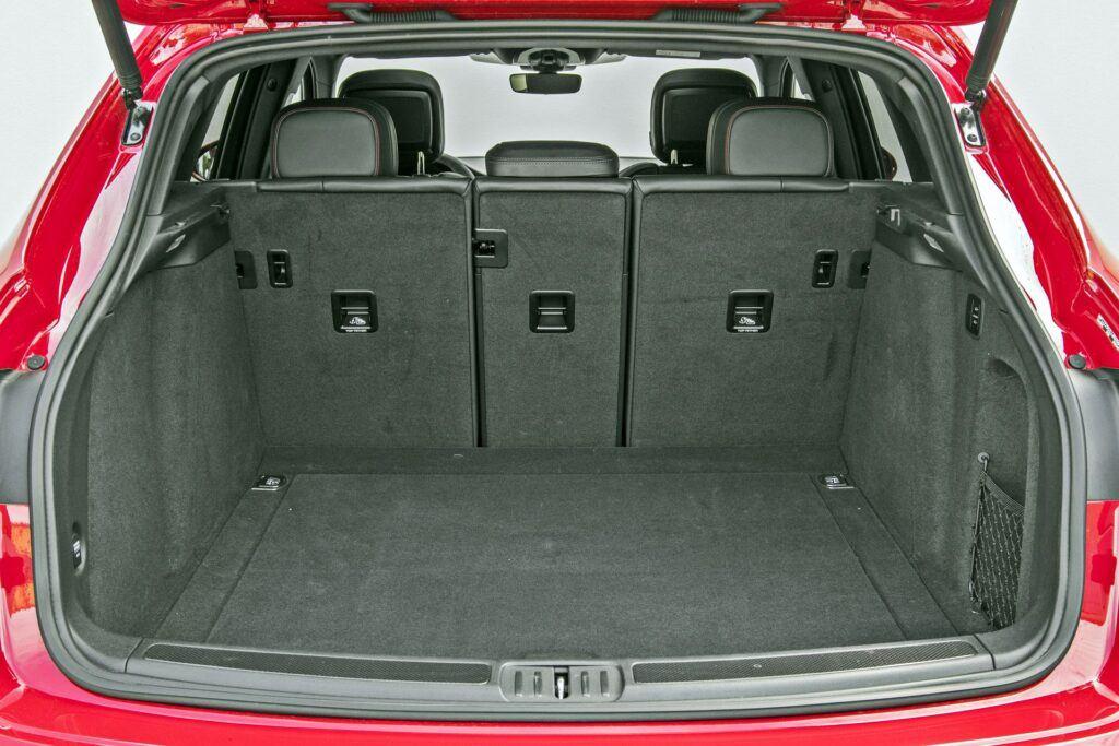 Porsche Macan - bagażnik