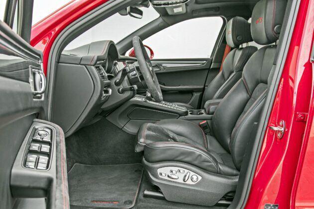 Porsche Macan - fotele przednie