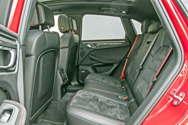Porsche Macan - tylna kanapa