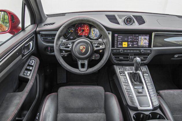 Porsche Macan - deska rozdzielcza