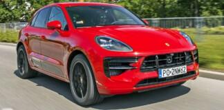 Porsche Macan - przód