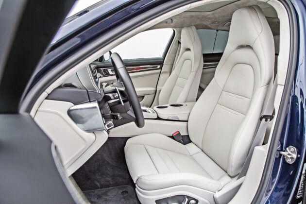 Porsche Panamera Sport Turismo - fotele przednie