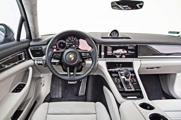 Porsche Panamera Sport Turismo - deska rozdzielcza