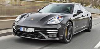 Porsche Panamera - przód