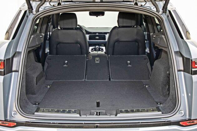 Range Rover Evoque - bagażnik
