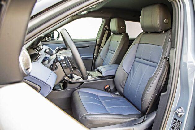Range Rover Evoque - fotele przednie