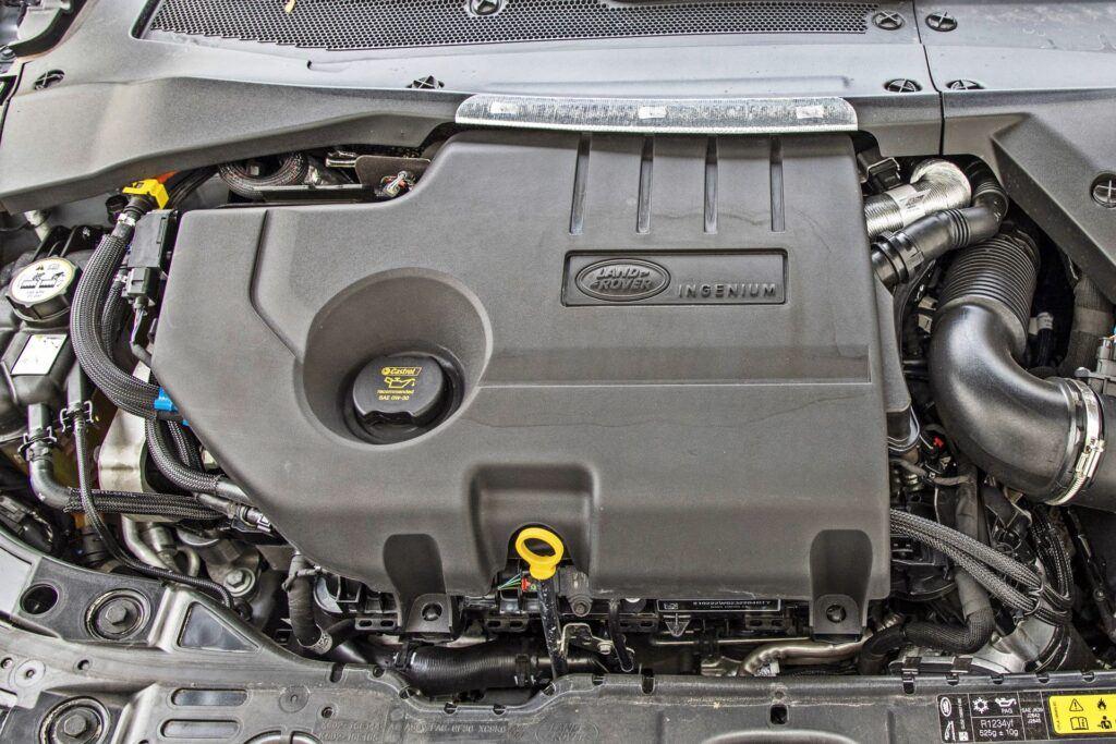 Range Rover Evoque - silnik