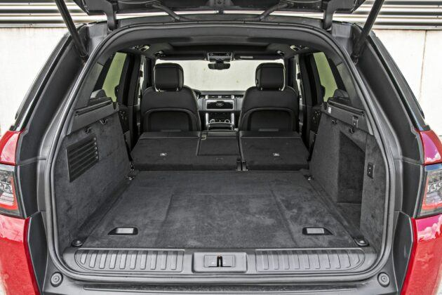 Range Rover Sport - bagażnik