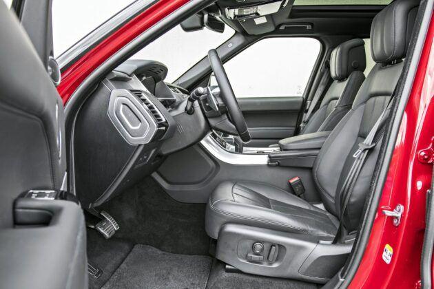 Range Rover Sport - fotele przednie