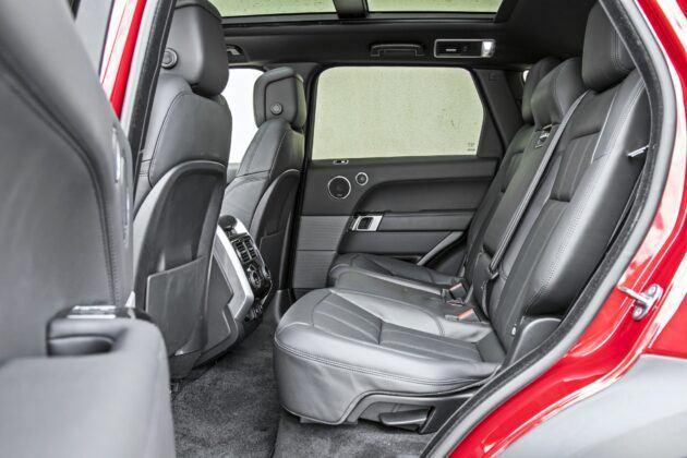 Range Rover Sport - tylna kanapa