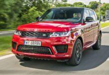 Range Rover Sport - przód
