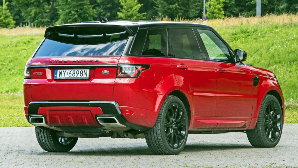 Range Rover Sport - tył