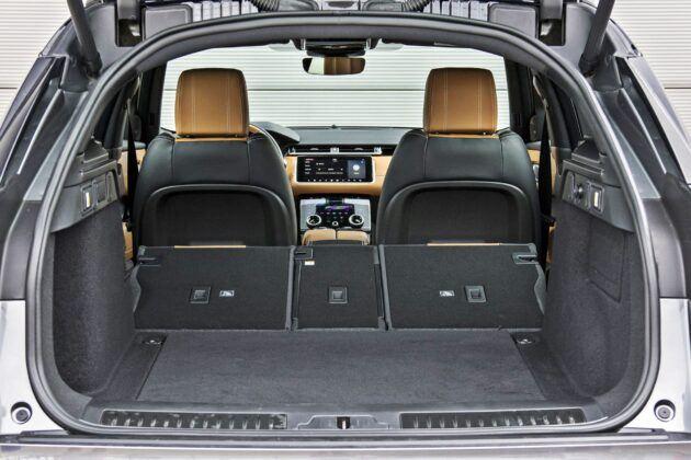 Range Rover Velar - bagażnik