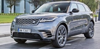 Range Rover Velar - przód