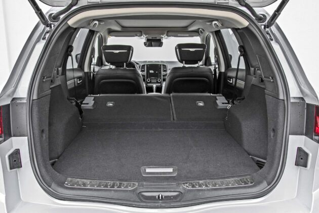 Renault Koleos - bagażnik