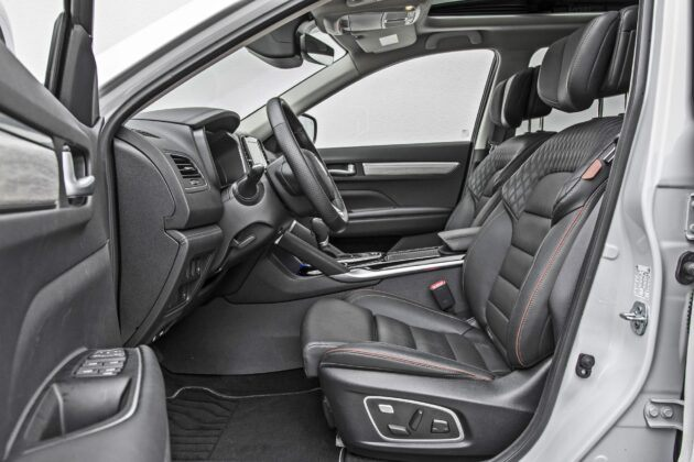 Renault Koleos - fotele przednie