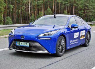 Toyota Mirai – test zasięgu samochodu na wodór