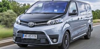 Toyota ProAce Verso - przód