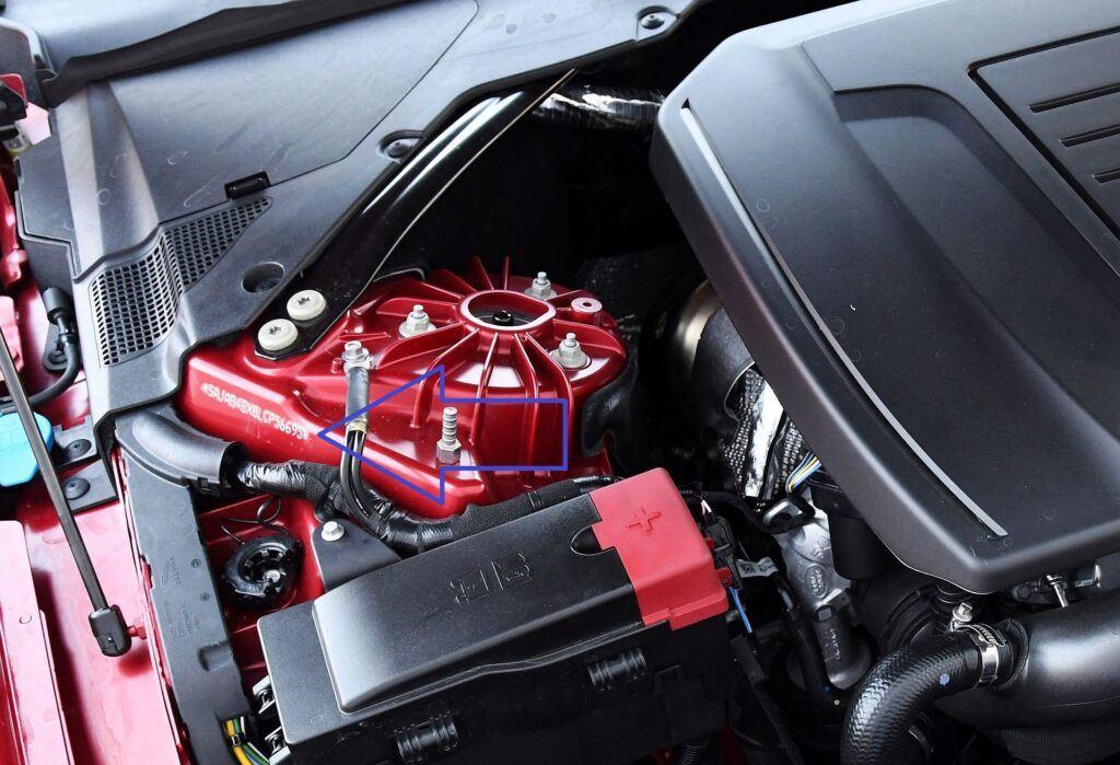 Jaguar XE numer VIN