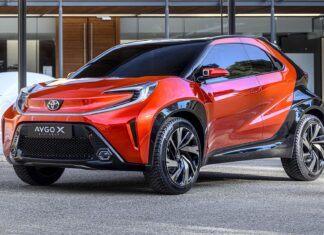 Nowa Toyota Aygo X (2022) - pierwsze zdjęcia i informacje
