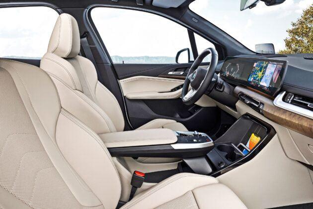 BMW serii 2 Active Tourer - fotele przednie